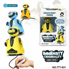 New Intelligent Robot Toys Line Drawing Walking RC Robot Interactive Educational