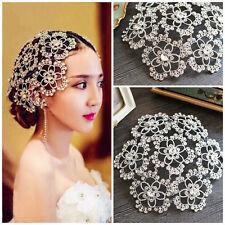 Pageant Tiara Flower Crown Rhinestone Hat Wedding Hair Accessories Headpiece SHU
