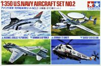 Tamiya 78009 1/350 Scale Model Kit U.S.Navy Carrier Aircraft Fighter Set No.2