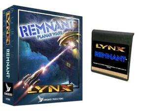 Remnant for the Atari Lynx BRAND NEW from Songbird, like Star Raiders Starmaster