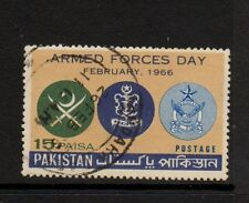 PAKISTAN 1966 15p ARMED FORCES DAY Fine Used