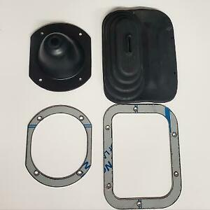 JEEP CJ5 CJ7 1972-1975 SHIFTER BOOT AND RING SET STAINLESS