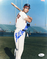 Eddie Mathews Autographed 8x10 Photo (JSA)