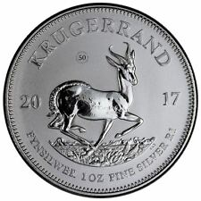 2017 South African Silver Krugerrand PU   In Air-Tite Capsule + COA