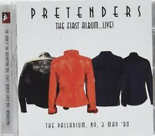 PRETENDERS - FIRST ALBUM...LIVE! 1980   CD NEW+