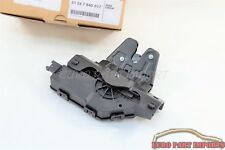 BMW E81 E82 E87 E88 E46 E90 Rear Trunk Lock Hatch Actuator Germany Genuine OE