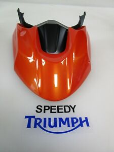 TRIUMPH TIGER 800 XCX XCA HIGH FRONT MUDGUARD KIT BAJA ORANGE A9708212 EK