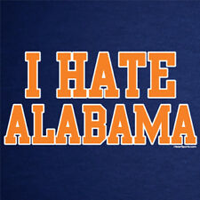 Auburn Tigers T-shirt I HATE ALABAMA shirt war eagle football jersey XL