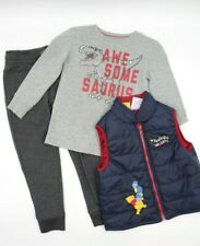 Multi Brand Toddler Boys 3 Piece Pants Outfit Set Size 4T