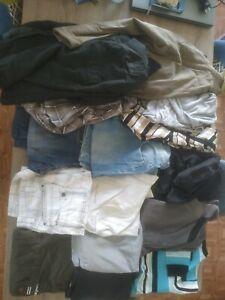 Gros Lot De 15 Vêtements Homme Taille M / 38 environ pour porter ou revendeur
