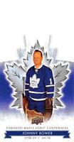 2017-18 Upper Deck Toronto Maple Leafs Centennial Blue Die Cuts Pick From List