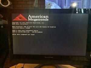 """Lenovo C40-05 21.5"""" AMD A4-6210 500GB HDD 4GB Ram Windows 8.1"""