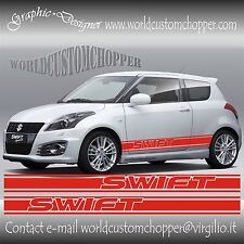 FASCE ADESIVE SOTTO PORTA SUZUKI SWIFT SPORT AUTO TUNING GRAPHICS SWIFT