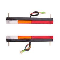 2pcs 12V 20Led Car Rear Tail Lights Brake Stop Indicator Trailer Truck