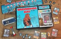 Groundhog Day The Game, Board Game with Flocked Punxsutawney Phil Pop! Figure