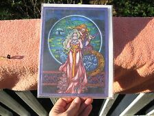 Jim Fitzpatrick Irish Artist Celtic Mythology Post card - The Magic Cup 1986