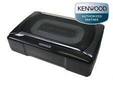 Kenwood KSC SW11 Aktiv Subwoofer flach kompakt Untersitz Bass Box