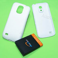 3in1 6300mAh Extended Battery Cover Case for Samsung Galaxy S4 mini SCH-I435 USA