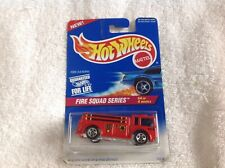 HOT WHEELS #427 FIRE EATER Fire Squad Series 4/4 Unopened Free Shipping.
