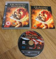 Heavenly Sword Sony PlayStation 3 PS3 Game Complete with Manual - Free P&P