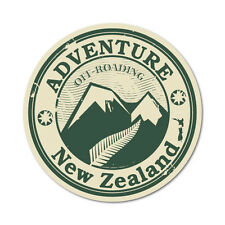 Adventure New Zealand Sticker NZ Kiwi Car Fern Decal #6287EN