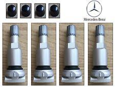 Mercedes C Class W205 tyre pressure sensor valve stem 4 pcs TPMS service kit