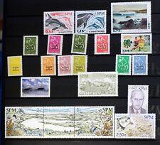 SAINT PIERRE et MIQUELON  lot de timbres NEUF ** vendu sous la faciale 88M824