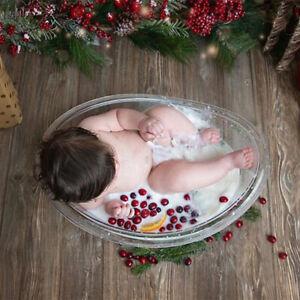 Baby Newborn Photo Props Cute Mini Milk Bath Tub Photo Studio Accessories