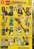 LEGO 71001 SERIE 10 FIGURINE TORSE TÊTE JAMBES Minifig Torso Head Tool Lot NEW !