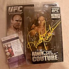 Randy Couture Signed Auto UFC Ultimate Collector Action Figure COA JSA & PHOTO