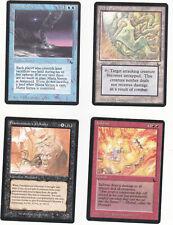 Lot de x4 cartes THE DARK Maze of Ith... MAGIC MTG ENGLISH 1994 EX-NM  VINTAGE