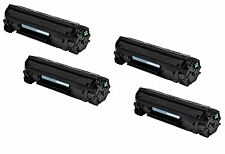 4-Pack/Pk CE285A 85A 285A Toner Cartridge For HP LaserJet P1102 P1102W M1212NF