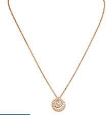 Authentic Swarovski Crystal Generation White Rose Gold-Tone Pendant 5289025