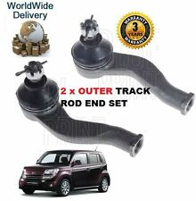FOR DAIHATSU MATERIA 1.5 2006-->NEW 2x OUTER LEFT & RIGHT TRACK TIE RACK ROD END