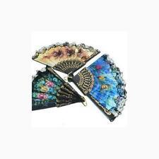 Spanish Floral Folding Hand Fan Size 9 1 Dozen 12pcs by 21 Fans Decorative Foldi