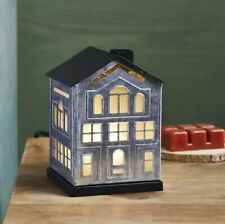 Better Homes & Gardens Full Size Electric Wax Warmer, Galvanized House NIB