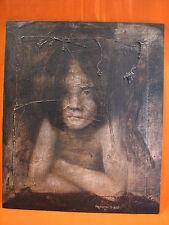 Arnaud DE BONIS XXe référencé Tableau Portrait Peinture Painting Pittura Huile