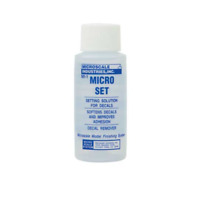 MICROSCALE MICRO SET DECAL SETTING SOLUTION (1 OZ BOTTLE) | 104