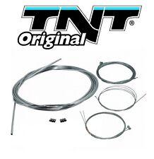 Kit cable gaine Chrome cyclomoteur moto gaz starter frein décompresseur 103 NEUF