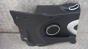 BMW MINI Cabrio R57 Rear Lateral Trim Panel Left N/S Black Chrome Silver
