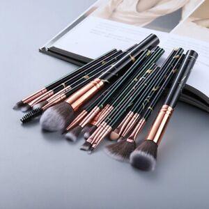 15Pcs Makeup Set Brushes Tool Powder Brush Foundation Cosmetic Blush Kit
