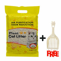 6/36LB Original Cat Litter Fast Clumping Natural Plant Tofu Litter + 1 Shovel