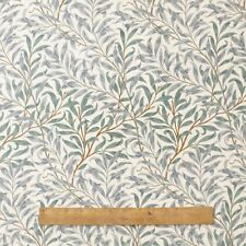 William Morris Willow Bough Green 100% Cotton Fabric By The Half Metre