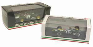 Brumm Lotus 25 1963 & Lotus 33 1965 World Champion Set - Jim Clark 1/43 Scale