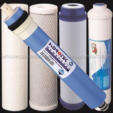 Reverse Osmosis Replacement Filter Set  RO Cartridges 5 pcs w/ 50 GPD Membrane 1
