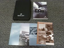 2003 Mercury Mountaineer SUV Owner Owner's Manual User Guide 4.0L 4.6L