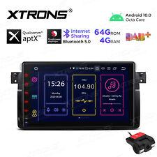 "9"" Android 10.0 Car Stereo Radio GPS 4+64G Navigation BT 5.0 for BMW E46 M3 +DVR"