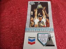 Florida Marlins 1998 Livan Hernadez Give Away Pin MLB