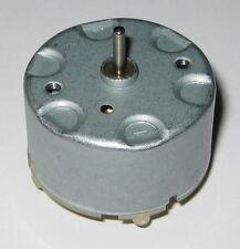 RF-500 DC Motor - 6 VDC 4300 RPM Fisher Price Swing Motor RF-500TB-18280