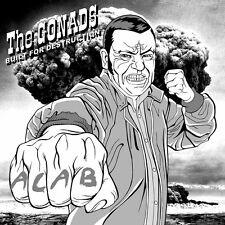 The Gonads - Built For Destruction LP Oi Punk 4Skins Cock Sparrer The Business